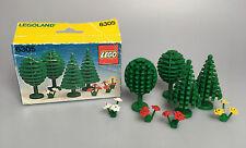 LEGO® Town Classic Legoland 6305 Bäume & Blumen mit Box von 1980