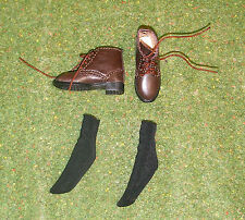 DRAGON IN DREAMS DID 1/6 MODERN US FRINGE LOOSE BOOTS & SOCKS FROM PETER BISHOP