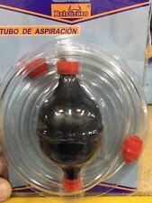 Tubo de aspiración de  liquidos, combustible,agua con bomba manual envio rapido