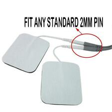 20 Replacement Pad for Massagers / Tens Units electrode pads 2x2Inch White Cloth