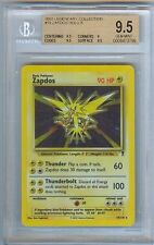 ZAPDOS HOLOFOIL - LEGENDARY POKEMON - RARE - GEM MINT 9.5 / PSA 10