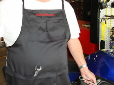 GoRacin Custom RACE TRACK/SHOP, BBQ APRON, TAILGATE PARTIES,  COOKING, CHEF *