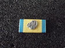 (A11-X18) Ordensspange Bayern Feuerwehr Leistungsabzeichen technik gold-blau