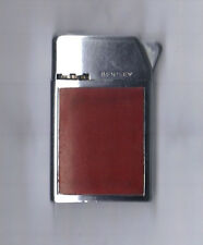 Vintage Bentley Butane Gas lighter, Nice Finish, Sparks well, See notes