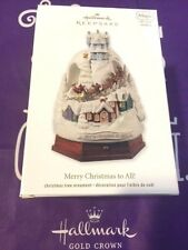 HALLMARK 2012 MERRY CHRISTMAS TO ALL UP ON THE HOUSETOP MIB FREE SHIPPING