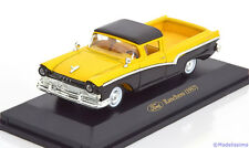 1:43 Collection 711 Ford Ranchero Pick Up 1957 yellow/black