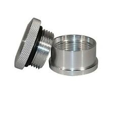 Meziere PN6550 Weld-In Cap & Bung Rear End Or Weight Bar Style Aluminum