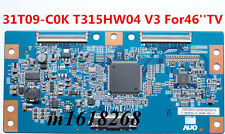 New T-Con Board 31T09-C0K T315HW04 V3 Samsung LN46C600F3FXZA AUO For 46''TV