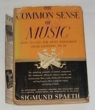 The Common Sense of Music by Sigmund Spaeth Hardcover