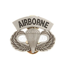 US ARMY AIRBORNE PARATROOPER PARACHUTIST WINGS PIN BADGE-34037