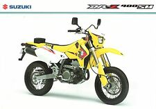 Suzuki UK sales brochure DRZ400 DRz400SM