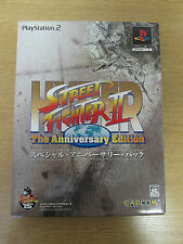 ULTRA RARE PS2 NTSC-J HYPER STREET FIGHTER II THE ANNIVERSARY EDITION COLLECTORS