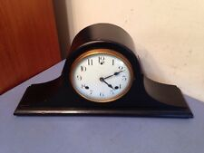 Rare Antique Mantle Clock Wm Hobbs Co. Seth Thomas Sessions Style Porcelain Dial