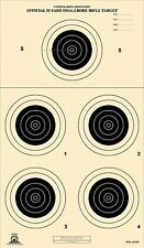 A-23/5 [A23] NRA Official 50 Yard Smallbore Rifle Target, on Tagboard (100)