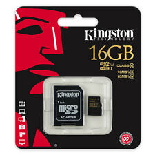 Kingston 16GB Micro SD HC Memory Card For Go Pro Hero 4 4k HD Video Recording