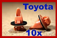 10 TOYOTA land cruiser prado 4 Runner highlander wheel arch flare clips