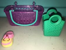 Shopkins Season 3 Retired Ultra Rare Pink & Yellow Shoe Molly Moccasin 3-038