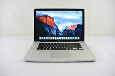 "Apple MacBook Pro 15"" 2010 2.4GHz i5  320GB  4GB  MC371LL/A C GRADE + WARRANTY!"