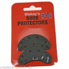 BLAKEYS RUBBER SIZE 3 TOE HEEL SEGS RUBBER SHOE PROTECTORS WITH TACKS MADE IN UK