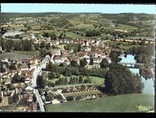 MEAULNE (03) VILLAS , Route de VALIGNY & PONT en vue aérienne , période 1950