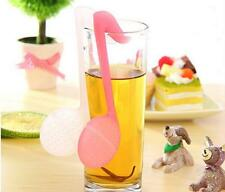 Music Note Fashion Convenience Tea Strainer Spoon Teaspoon Infuser Filter  GOCA