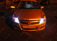 Vauxhall Astra H VXR 05-10 ERROR FREE LED Side Light Bulbs - Xenon ICE White