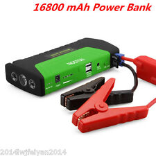 Portable 16800mAh Power Bank Car Jump Starter Booster Emergency Battery Charger