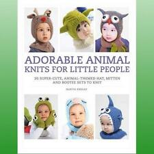 Adorable Animal Knits for Little People by Khegay Nuriya