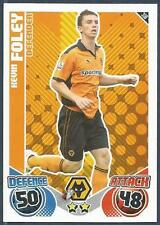 TOPPS MATCH ATTAX 2010-11- #350-WOLVES-KEVIN FOLEY