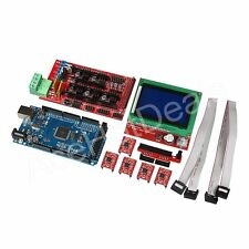 3D Printer Kit RAMPS 1.4+Mega2560+A4988+12864 LCD Controller for Arduino Reprap