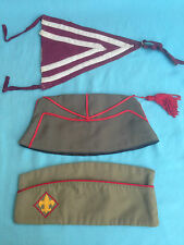 LOTTO DI 2 BUSTINE BOY SCOUT USA ED ASIA/AFRICA + BANDIERINA SCOUTISMO VINTAGE