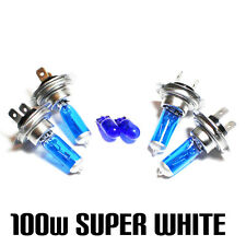 BMW 3 Series E46 330 Ci 100w Super White Xenon HID Main/Dip/Side Light Bulbs Kit