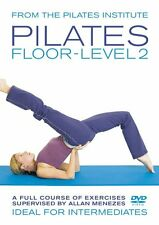 PILATES FLOOR LEVEL 2 A FULL COURSE OF EXERCISES BY ALLAN MENEZES NEW DVD Tv