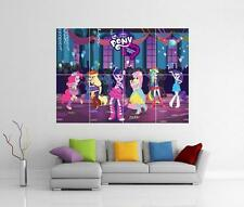 MY LITTLE PONY: Equestria Ragazze Giant WALL ART PICTURE FOTO STAMPA POSTER