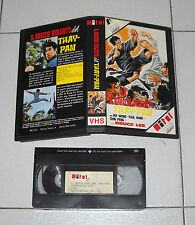 Vhs IL BRACCIO VIOLENTO DEL THAY-PAN Bruce Lee Hoi Wong Karate 1978 Kung Fu