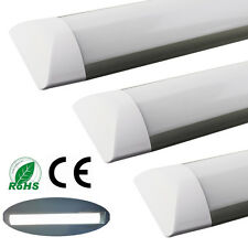 8x Surface Mounted 1200mm 4FT 36W LED Batten Linear Tube Light Ceiling Lamps