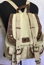 Icing Backpack Beige Bag Handbag Book Tote Bags Fashion Straps Shoulder