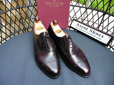 VT461 - Vass Old English II - UK 6 - US 7 - Oxblood calf - New Peter (Wide)