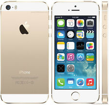 ★★ New Apple iPhone 5S 64 GB ★★ GOLD ★ iOS 9 ★ Unlocked ★ IMPORTED ★