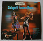 101 STRINGS: Swing with Hammon Organ LP Record CHEESECAKE MOD COVER 1960s