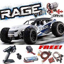 Kyosho 34353B RAGE VEi 1/10 4WD Buggy RS RTR w/ Radio / dDRIVE + Free LED