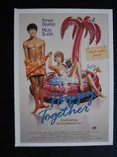 Filmplakatkarte cinema   Happy Together  Patrick Dempsey , Helen Slater