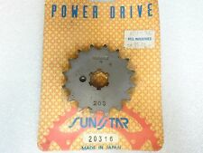 Sunstar NOS NEW 20316 Sprocket 16T