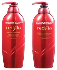 SOMANG REDFLO CAMELLIA HAIR SHAMPOO 750ml + CONDITIONER 750ml SET (US SELLER)