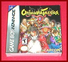 Onimusha Tactics for the Nintendo Game Boy Advance System NEW SEALED