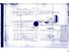 SOPWITH PUP BLUEPRINT PLANS DETAILED WWI PERIOD DRAWINGS RARE ARCHIVE Biplane