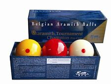 ARAMITH TOURNAMENT PRO CUP CHAMPION BILLIARD BALLS