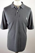 Classic men's Polo Ralph Lauren dark grey short sleeved polo shirt XL XXL