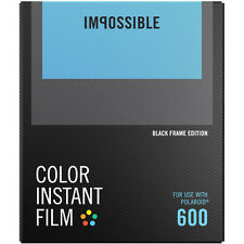 Impossible Instant Color Film Black Frames for Polaroid 600 type cameras 4515