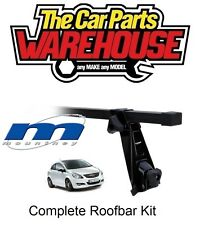 Full Roof Rack Bar Kit SUM204 Mountney Direct Fit ~ VAUXHALL CORSA 2007 - 2012